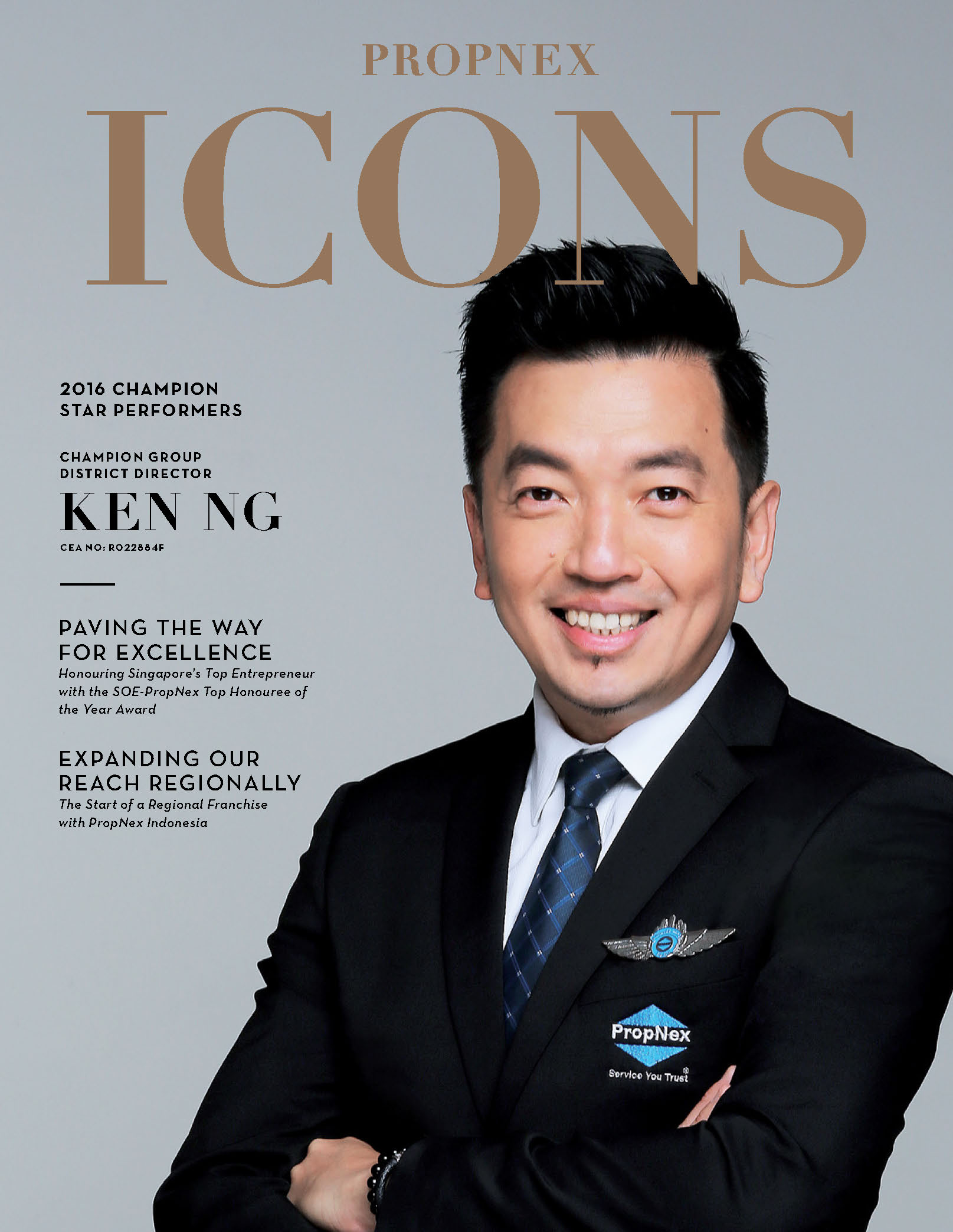 PropNex Singapore Top Property Consultants Success Story